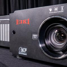 Eiki 8k projector
