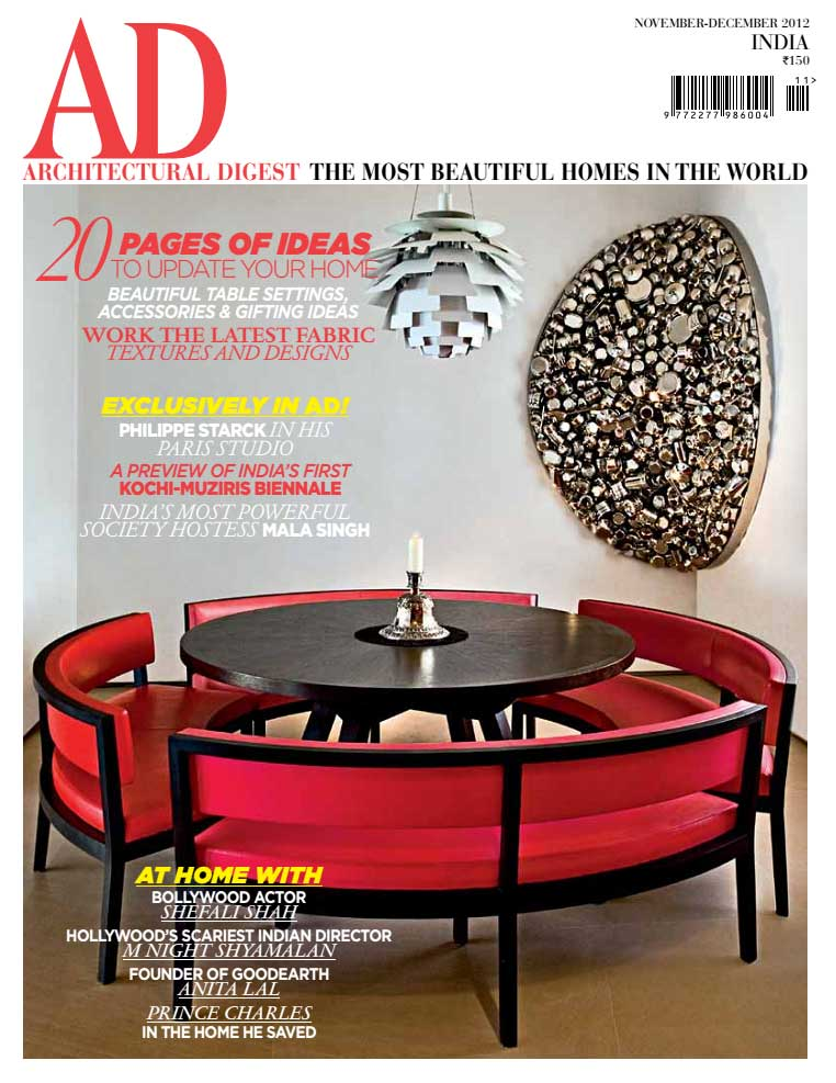 Architectural Digest India Dec 2012