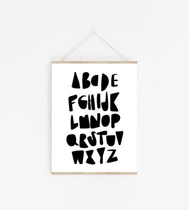 print    ABC b+w