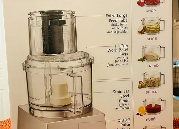 Cuisinart Food Processor - $100 for 5 tickets