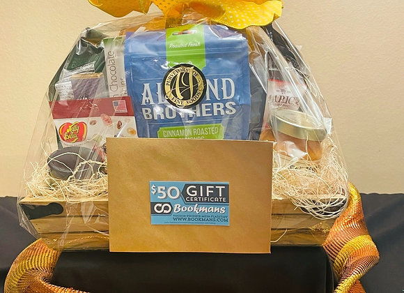 AJ's Fine Foods Basket w/ Gift Card - $100 for 5 tickets