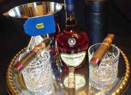 Sophisticated Gentleman's Basket w/ Gift Card - $100 for 5 tickets