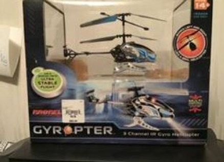 Remote Helicopter - $25 per ticket
