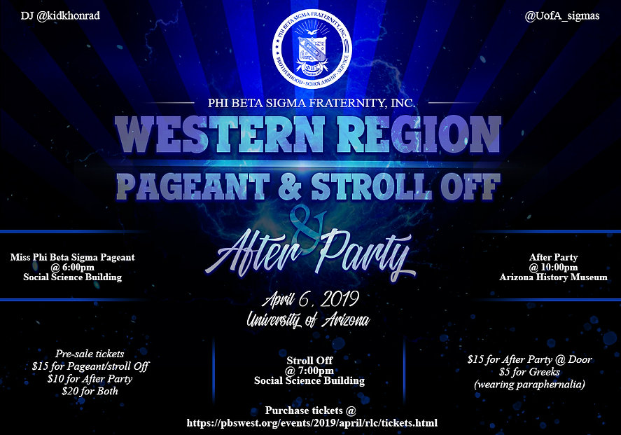 PBS Western Region Pageant & Stroll Off