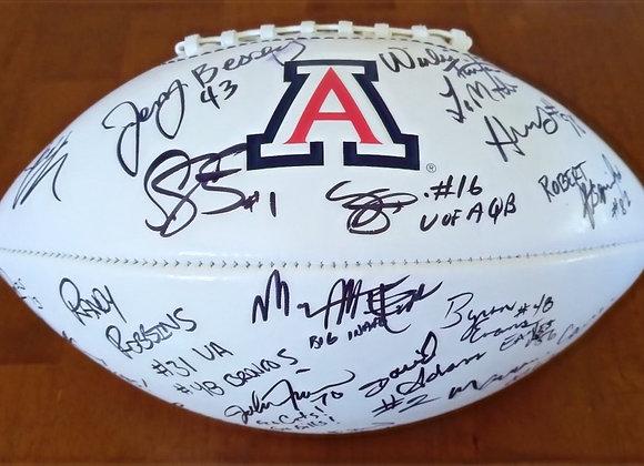UA Football Legends Autographed Football  - $100 for 5 tickets