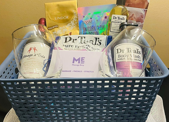 Relaxation & Spa Basket w/ Gift Card - $100 for 5 tickets