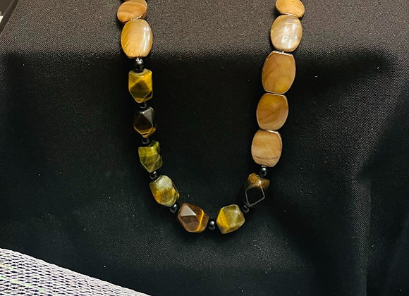 Brown Natural Stone Handmade Jewelry - $100 for 5 tickets