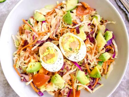 Cabbage Cobb Salad