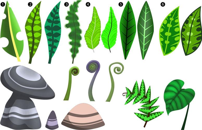 DinoSceenAssets-Leaves+RocksWeb.jpg
