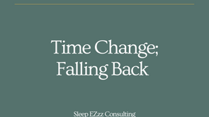 Time Change! (Fall Back)