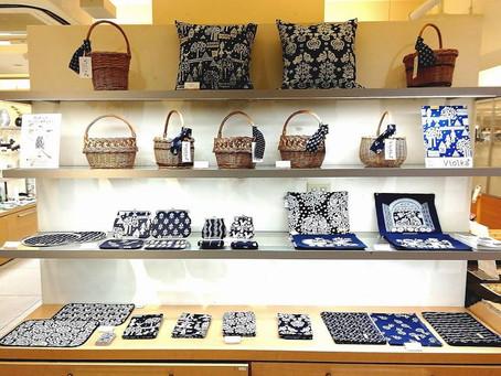 ヴィオルカチェコの伝統藍染め展@日本橋髙島屋