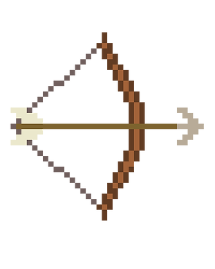 haunted house bow and arrow