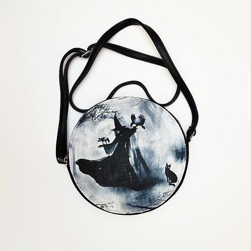 Witch shoulder bag