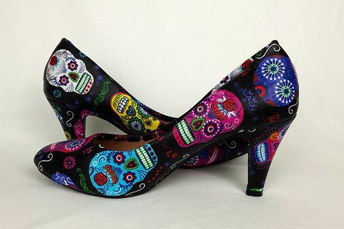 Sugar Skull custom heels