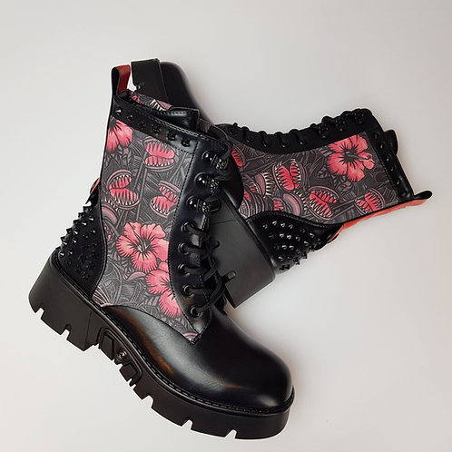 Venus Flytrap chunky platform boots