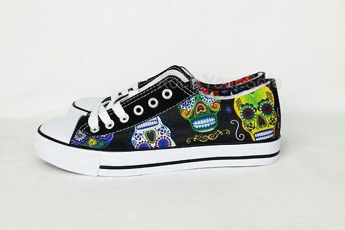 Sugar Skulls custom shoes