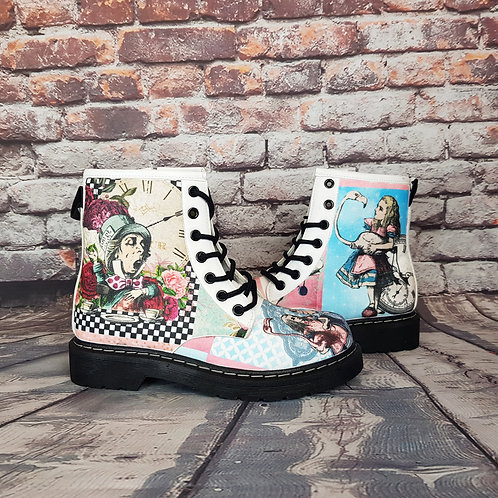 Wedding Alice in Wonderland boots
