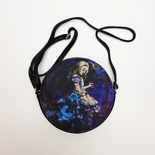 Alice in Wonderland shoulder bag
