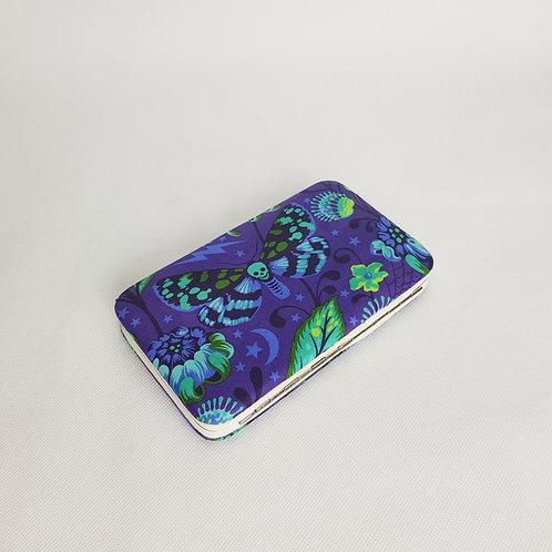 Venus fly trap purse, women's purple skull purse