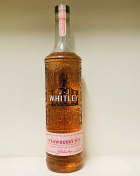 3 J.J Whitley Strawberry Gin 70cl - 38%.