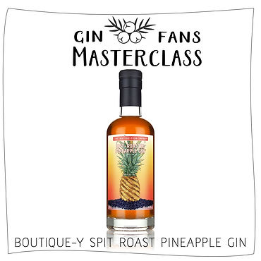 BOUTIQUE-Y SPIT ROAST PINEAPPLE GIN . 08