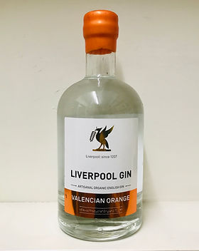 9 Liverpool Valencian Orange Gin 70cl -