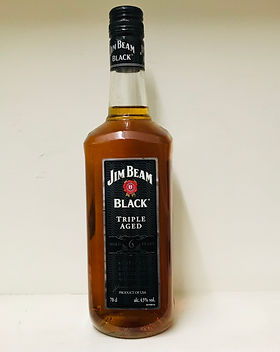 1 Jim Beam Black Label 70cl - 43% (Bourb