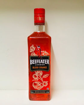 5 Beefeater Blood Orange Gin 70cl - 37.5