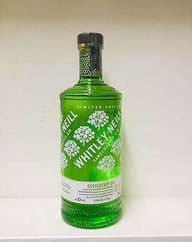 Whitley Neill Gooseberry Gin 70cl - 43%.