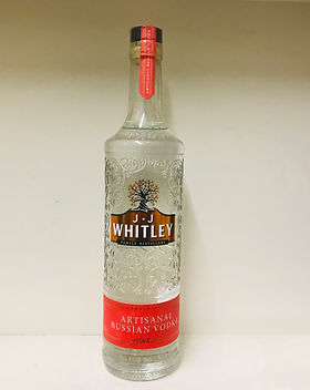 9 J.J Whitley Artisanal Vodka 70cl - 38%