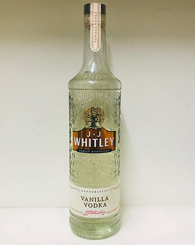 12 J.J Whitley Vanilla Vodka 70cl - 38.6