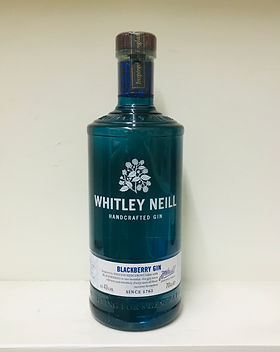 Whitley Neill Blackberry Gin 70cl - 43%.