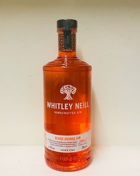 Whitley Neill Blood Orange Gin 70cl - 43