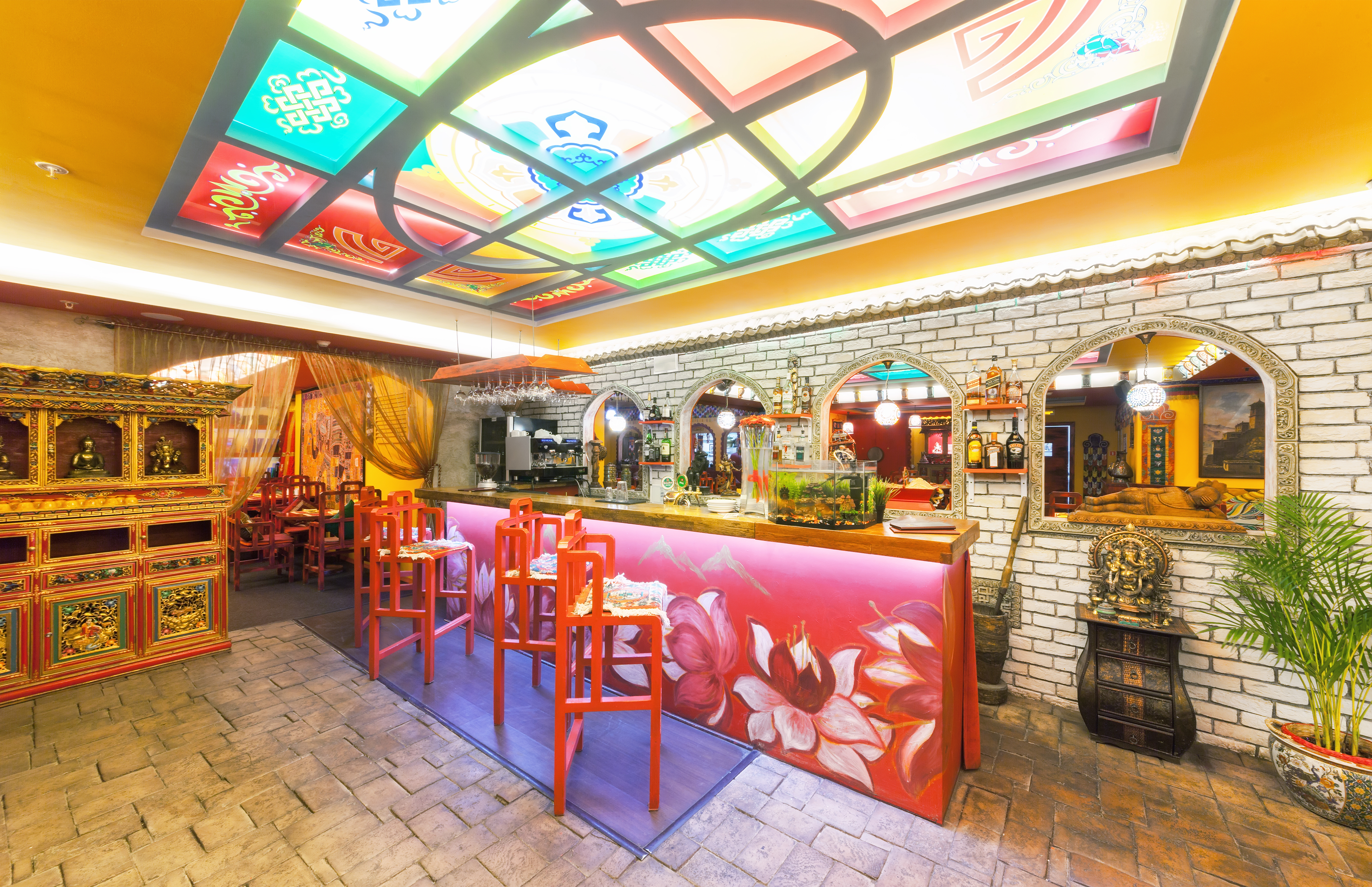 Indian Restaurant interior (generic)