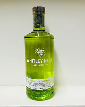 51 Whitley Neill Lemon & Ginger Gin 70cl
