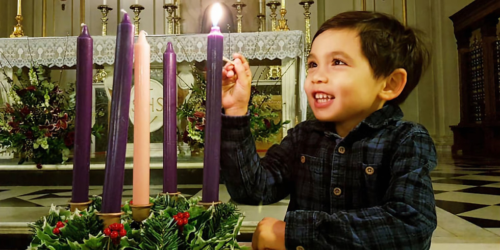 We are delighted to invite you and your family to join us in our online Advent Service on Thursday 3 December at 7pm.