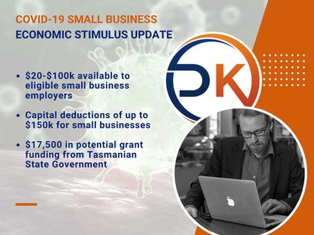 Small Business Stimulus Update