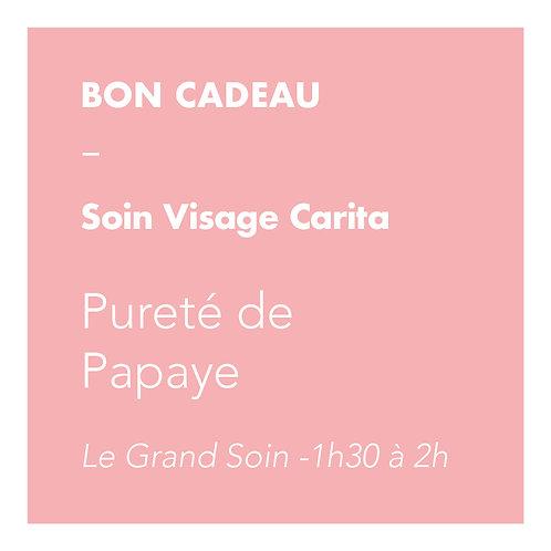 Soin Visage Carita - Pureté de Papaye - Le Grand Soin