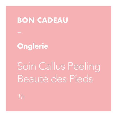 Onglerie - Soin Callus Peeling Pieds + Beauté des Pieds