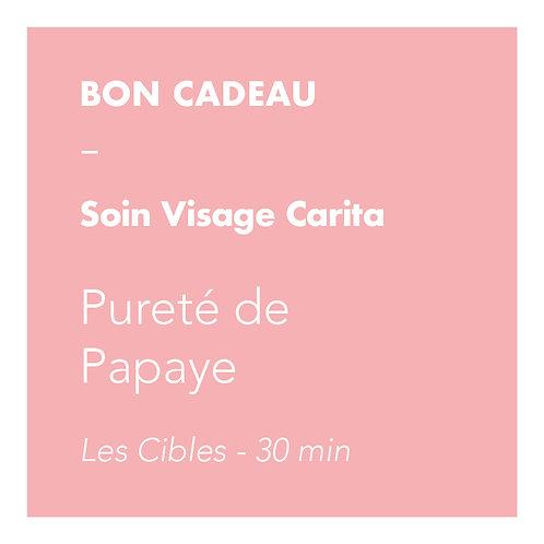 Soin Visage Carita - Pureté de Papaye - Les Cibles
