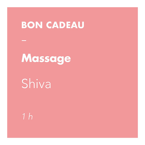 Massage Shiva - 1h