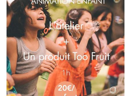 Nouveauté Jolité - Animation Enfant avec Too Fruit Academy