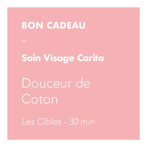 Soin Visage Carita - Douceur de Coton - Les Cibles