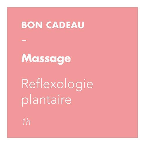 Massage Reflexologie plantaire - 1h