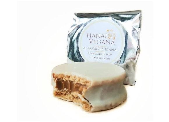 Alfajor de Dulce de leche chocolate blanco 37g (Tamaño en formato 100g)