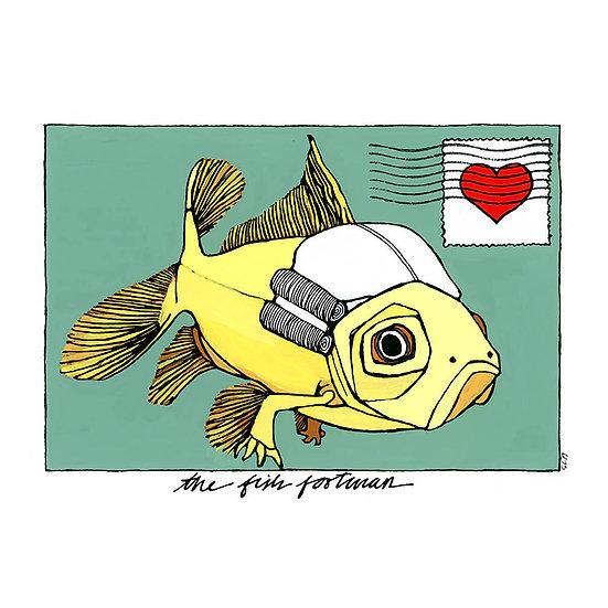 the fish footman