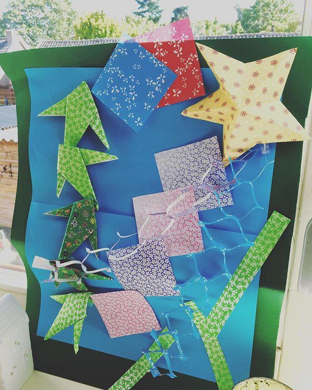 Star festival origami art☆__#star #festi