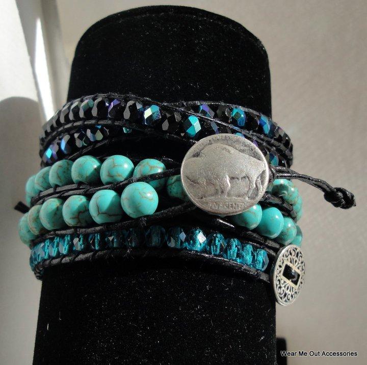 Turquoise Wrap Bracelets