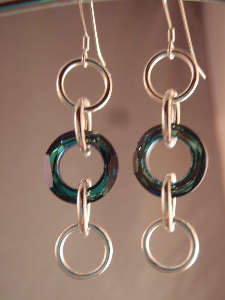 Bermuda Ring Earrings