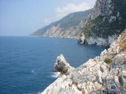 Панорамный вид береговой линии.